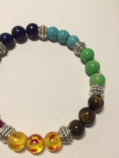 Bracelet des 7 chakras - unisexe - harmonisation