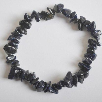 Naturel-Mixte-Pierre-Puce-Perles-Tourmaline-Grenat-Malachite-Bijoux-Bracelet-Extensible-8-Pouce-1-PCS-G639
