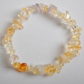 Bracelet baroque tourmaline naturelle cristalline