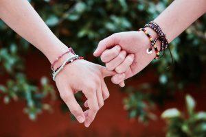 Bracelet en pierre pour amour et protection