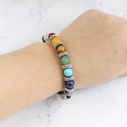 Bracelet 7 Chakra harmonie et sentiments
